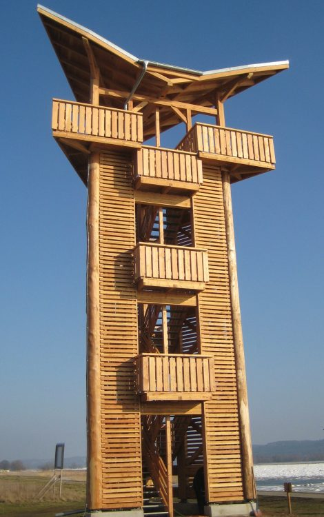 Neuer Beobachtungsturm bei Stützkow, Foto: M.Voigt