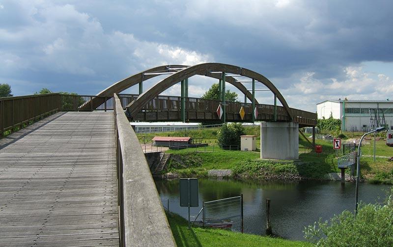 Bongossibrücke bei Schwedt/Oder
