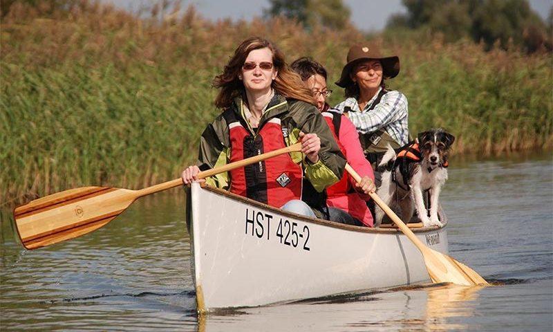 Paddeln mit Profis: Start in die Kanusaison im Nationalpark Unteres Odertal