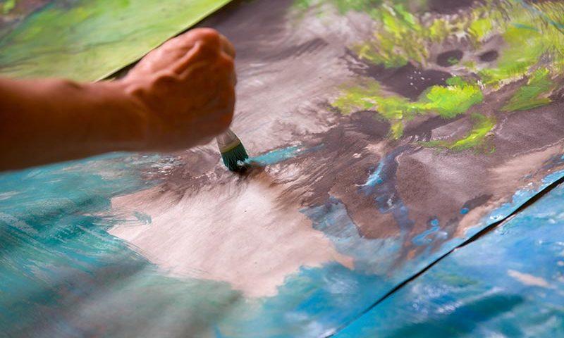 29. Internationales Landschaftspleinair- Künstler erleben den Nationalpark Unteres Odertal