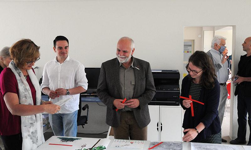 Arbeit der Jury des Zeichenwettbewerb 2020