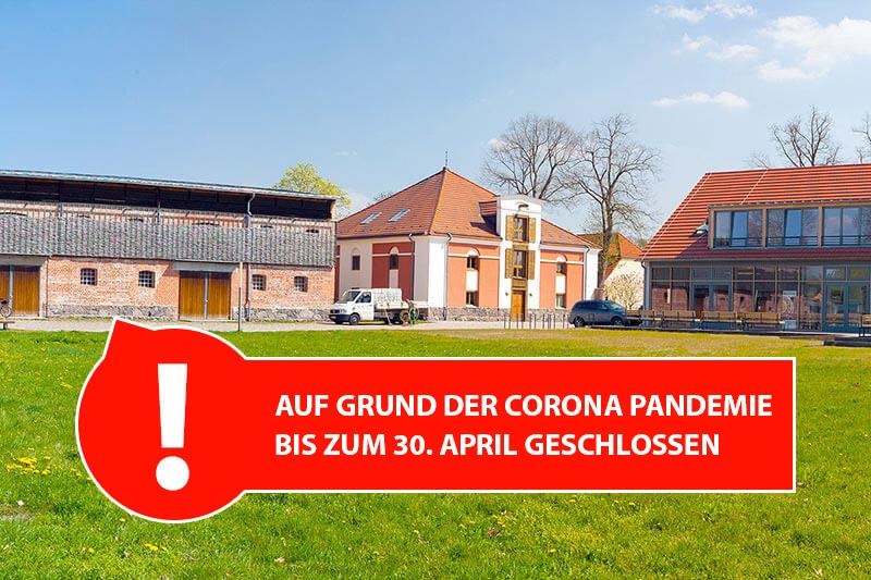 Besucherzentrum wegen der Corona-Krise bis zum 15. April geschlossen